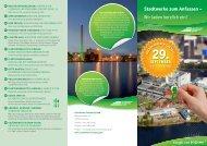 Flyer zum Tag der offenen Tür downloaden - Stadtwerke Flensburg