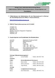 Anlage 2 zum Lieferantenrahmenvertrag (Strom) - Stadtwerke ...