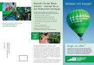 Stadtwerke Flensburg 2171 Leporello Heissluftballon 0706.indd