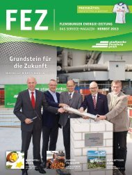 FEZ 2013/09 (PDF) - Stadtwerke Flensburg