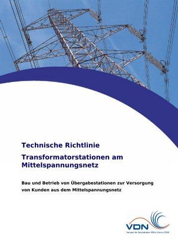 Technische Richtlinie Transformatorstationen am ...