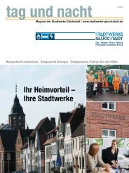 tana Ausgabe 1_2013 - Stadtwerke Glückstadt GmbH