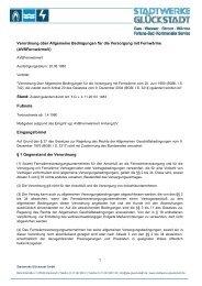 PDF, 197 KB - Stadtwerke Glückstadt GmbH