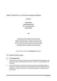Netzanschluss- und Anschlussnutzungsvertrag Biogas