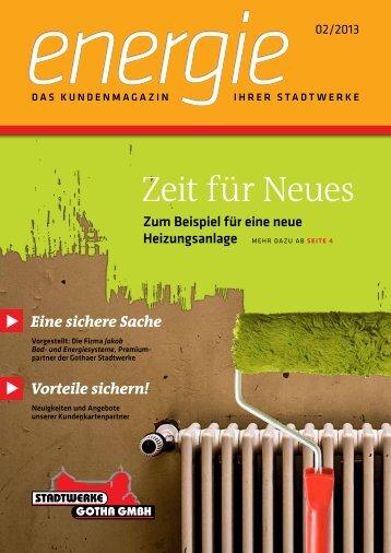 2/2013 - Stadtwerke Gotha