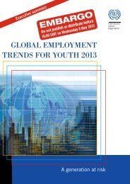 global employment trends for youth 2013 - International Labour ...