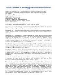 Convenzione sui Diritti dei Lavoratori Migranti dell'ILO - ClicLavoro