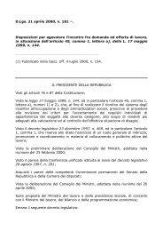 Decreto Legislativo 21 aprile 2000 n. 181 - ClicLavoro