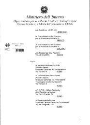 Circolare Ministero Interno 11 gennaio 2012 - ClicLavoro