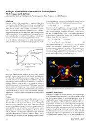 Målinger af tæthedsfluktuationer i et fusionsplasma
