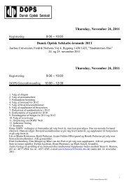 program 2011_3 - DOPS
