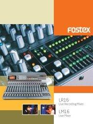 Brochure - Fostex
