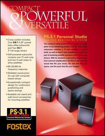 PS-3.1 - Fostex