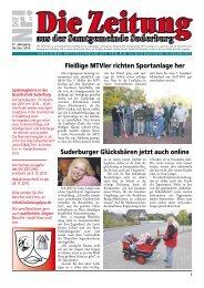 Informationen aus der Verwaltung - Suderburg - Online