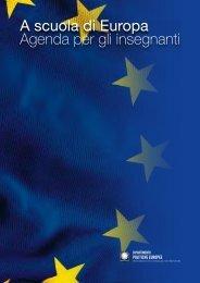 A scuola di Europa Agenda per gli insegnanti - Minori.it