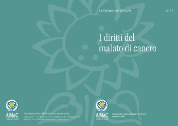 I diritti del malato di cancro - Governo Italiano