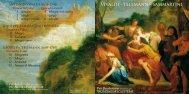 Vivaldi • Telemann • Sammartini - Lindberg Lyd AS