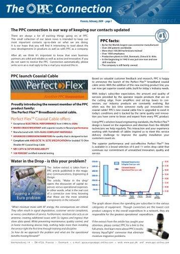 Praesto, February, 2009 –page 1 - PPC