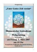 Geistliche Abendmusik am 12. Mai 2007 um 20 Uhr in der ... - Page 7