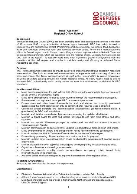 Danish Refugee Council - Somalia NGO Consortium