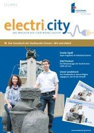 electri.city 03/2012 - Stadtwerke Greven