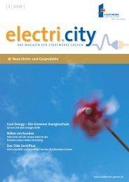 electri.city 03/2008 - Stadtwerke Greven