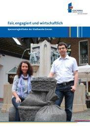Download Sponsoringleitfaden (PDF-Datei) - Stadtwerke Greven