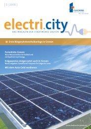 electri.city 02/2008 - Stadtwerke Greven