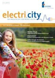 electri.city 02/2011 - Stadtwerke Greven