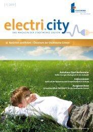 electri.city 01/2011 - Stadtwerke Greven