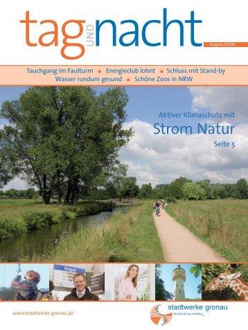 Ausgabe 1-2008 - Stadtwerke Gronau GmbH