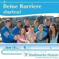 Unsere Ausbildungsangebote (PDF, 331 KB) - Stadtwerke Husum