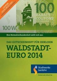 Download Gutscheinheft 2014 - Stadtwerke Iserlohn