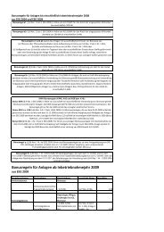 Infoblatt Bonusregelung - Stadtwerke Iserlohn