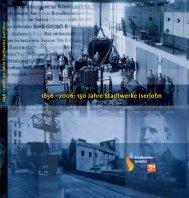 1856 –2006: 150 Jahre Stadtwerke Iserlohn