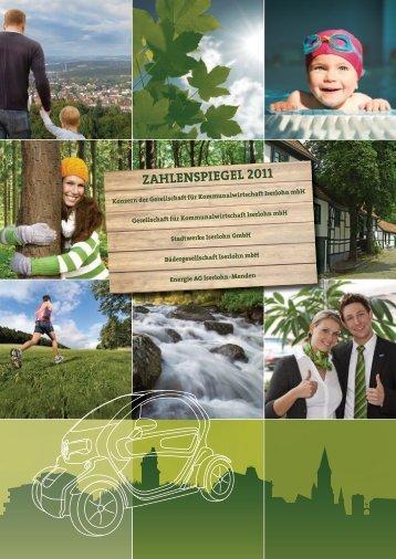 Zahlenspiegel 2011 - Stadtwerke Iserlohn