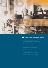 Geschäftsbericht 2005 - Stadtwerke Iserlohn