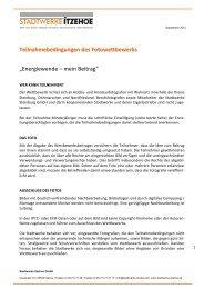 PDF, 293 KB - Stadtwerke Itzehoe