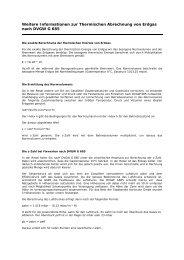 Weitere Informationen zur Thermischen Abrechnung von Erdgas ...