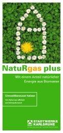 NatuRgas plus - Stadtwerke Karlsruhe