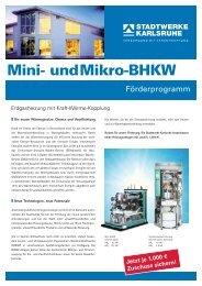 und Mikro-BHKW - Stadtwerke Karlsruhe