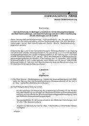 PDF, 100 KB - Stadtwerke Itzehoe