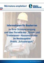 Informationen für Bauherren zu Ihrer ... - Stadtwerke Kiel