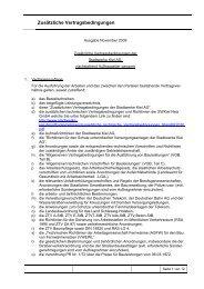 Zusätzliche Vertragsbedingungen - Stadtwerke Kiel