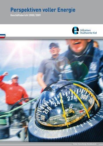 Geschäftsbericht 08/09 - Stadtwerke Kiel