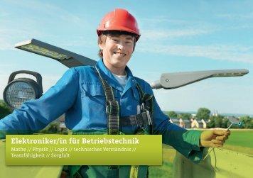 Elektroniker/in für Betriebstechnik - Stadtwerke Lemgo