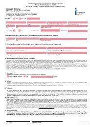 Auftragsformular Grundversorgung Strom - Stadtwerke Lingen GmbH