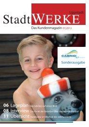 Stadtwerke Magazin 01|2013 - Stadtwerke-Lippstadt