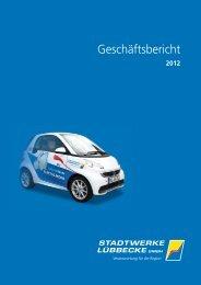 Geschäftsbericht 2012 - Stadtwerke Lübbecke GmbH