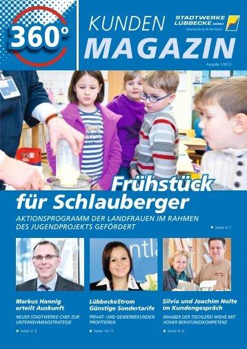 KUNDEN Frühstück - Stadtwerke Lübbecke GmbH